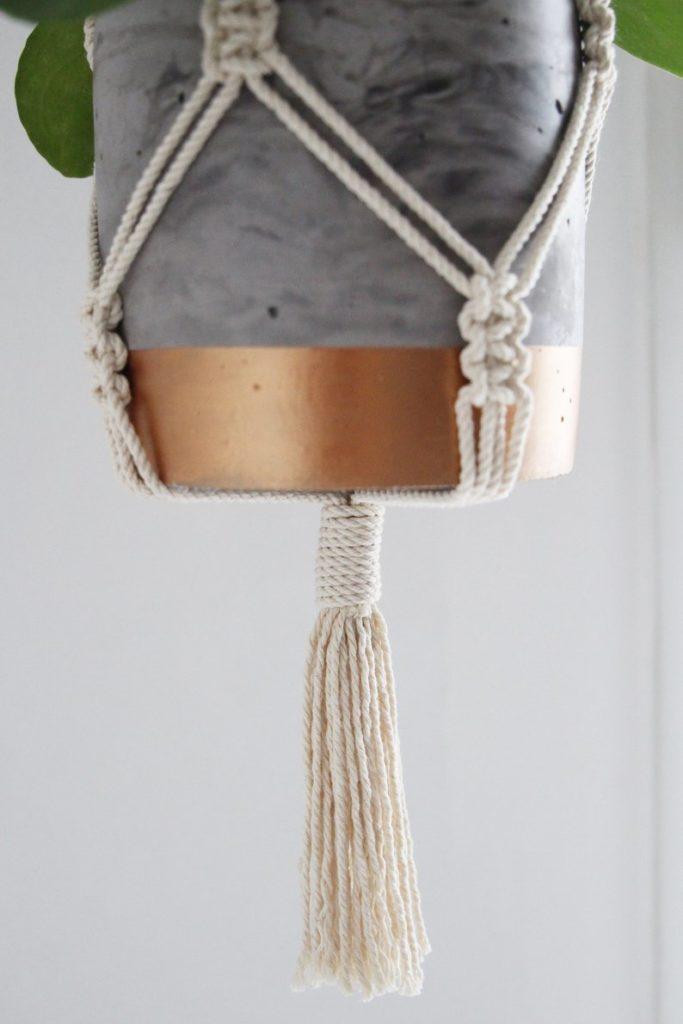 macrame cordes suspension